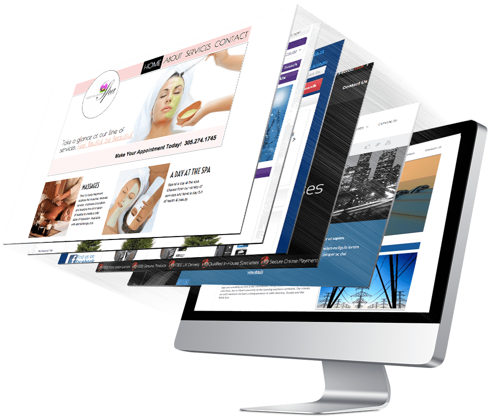 web & graphic design service home